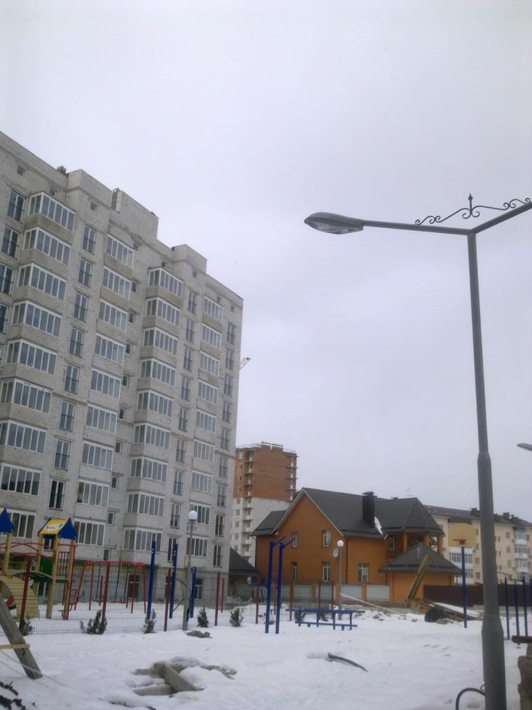 схема домов в комплексе софия