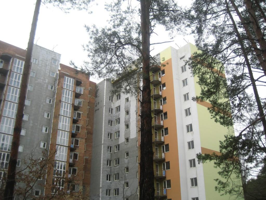 ЖК «Лісовий» в настоящем лесу