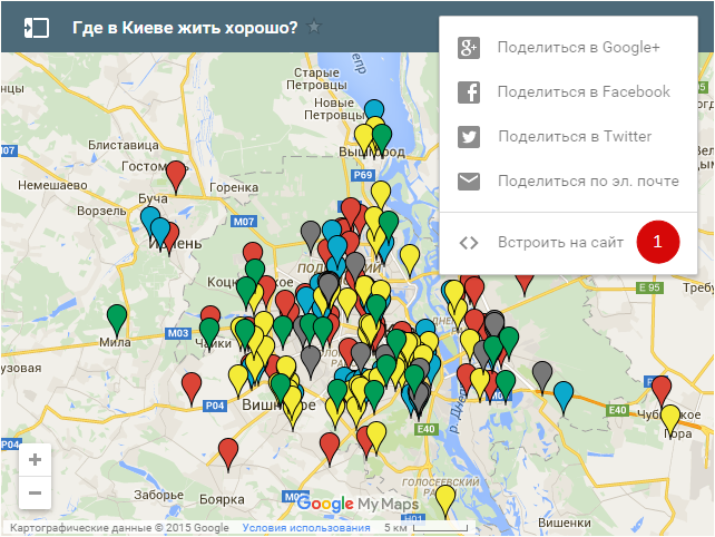 Новостройки на карте Киева и области 3