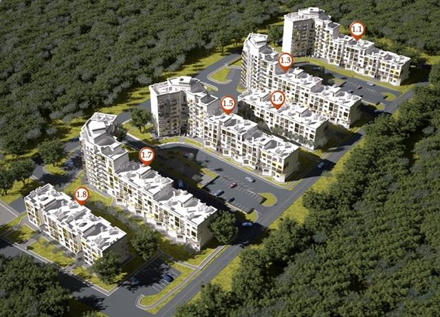 ЖК Сан Сити план 2