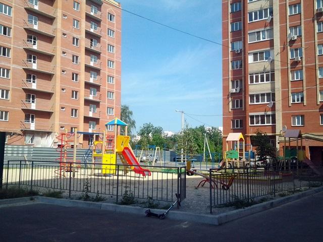 ЖК Левада детская площадка
