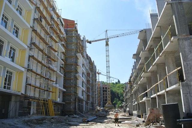 ЖК Подол Градъ ход строительства