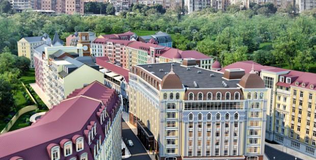 ЖК Подол Градъ панорама