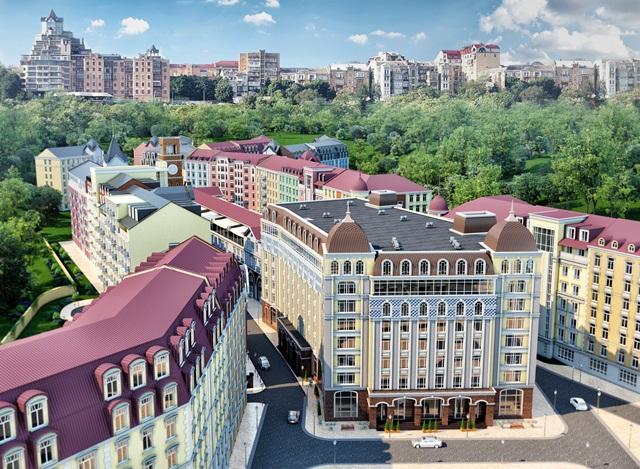 ЖК «Подол градъ» от Укрбуда
