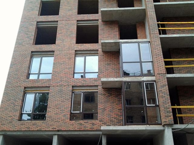 ЖК Соломенская 20 а фасад