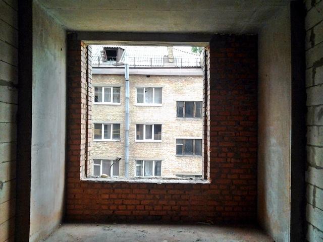 ЖК Соломенская 20 а вид из окна