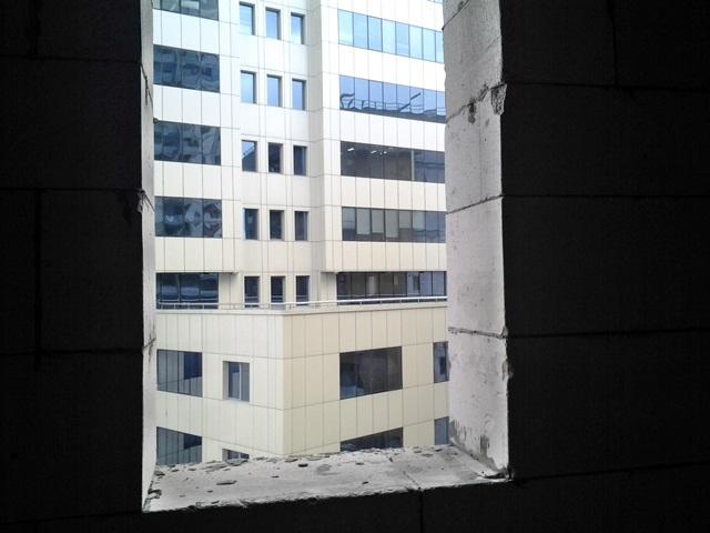 ЖК «L-Квартал» окно в ванной