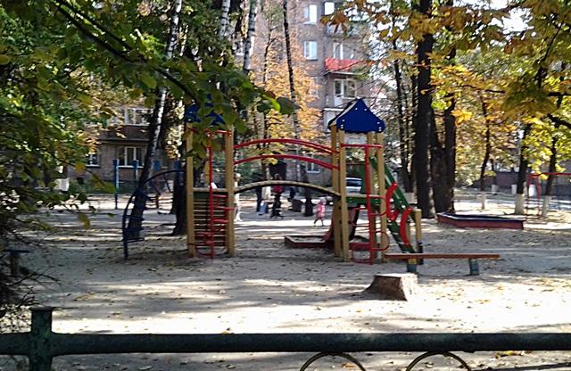 ЖК «Наш Будинок» детская площадка