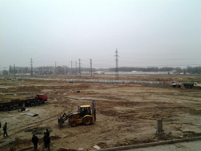 ЖК «Олимпийский» в Броварах ЛЭП