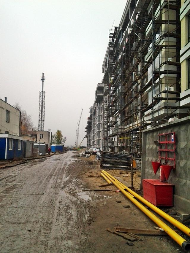 ЖК «ParkLand» ход строительства