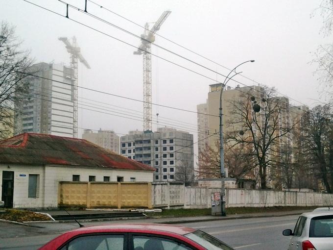 ЖК «ParkLand» соседи новостройки
