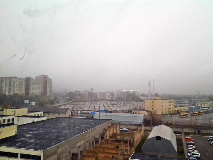 ЖК «ParkLand» вид из окна 2