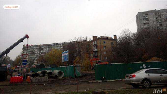 ЖК по пр. 40-летия Октября, 74 ход строительства