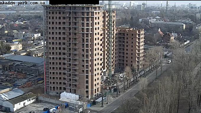 ЖК «Академ Парк» ход строительства