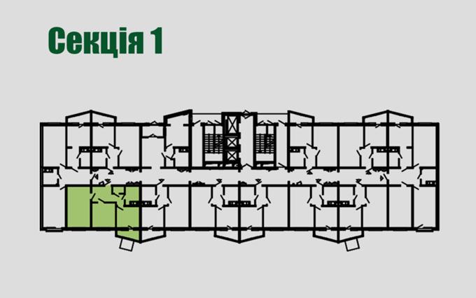 ЖК «Берген» 1 секция