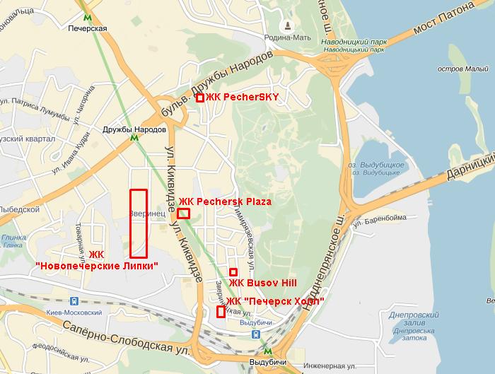 ЖК Busov Hill на карте