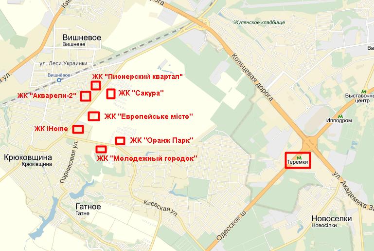 Год спустя: ЖК «Молодежный городок» на карте