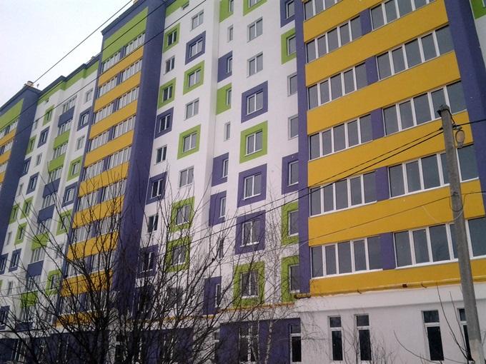ЖК «Щасливий» в Софиевской Борщаговке фасад