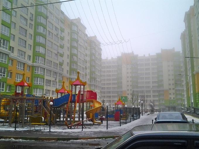 ЖК «Европейське мисто» детская площадка