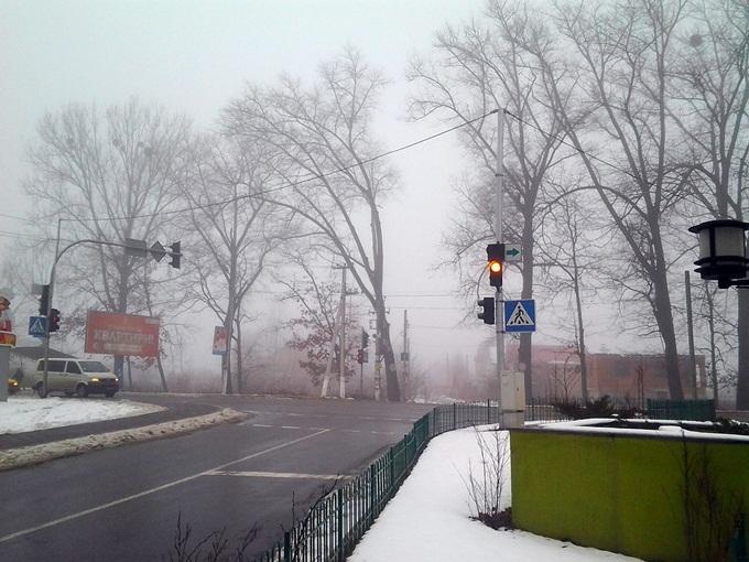 ЖК «Европейське мисто» светофор