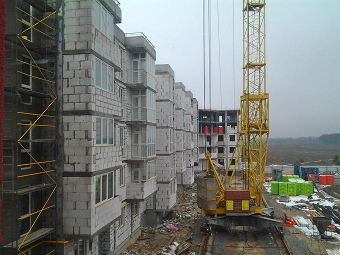 ЖК «Новая Буча» балконы