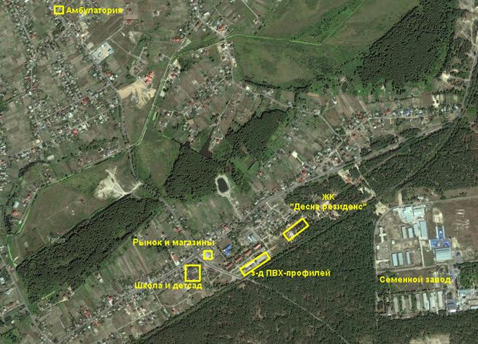 ЖК «Десна Резиденс» инфраструктура