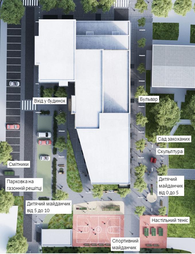 ЖК New York Concept House генплан