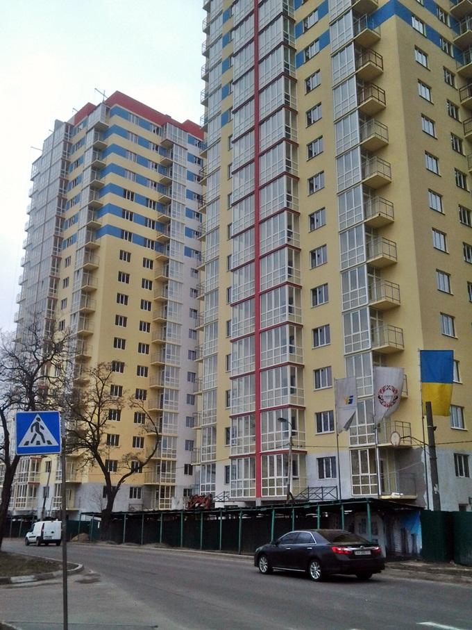 ЖК «Оберег» от Укрбуда два дома построены