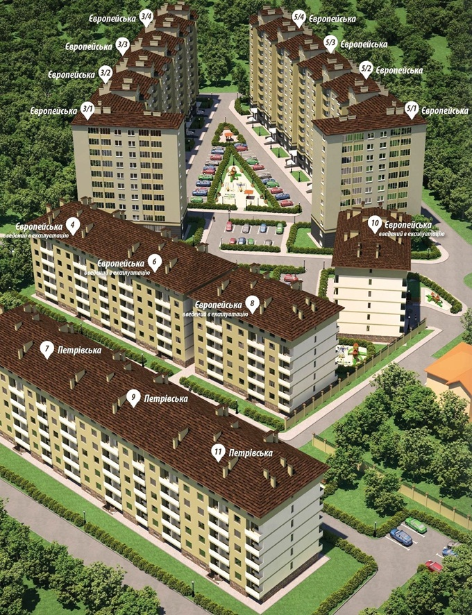 ЖК «Смарагдове мисто» адреса домов