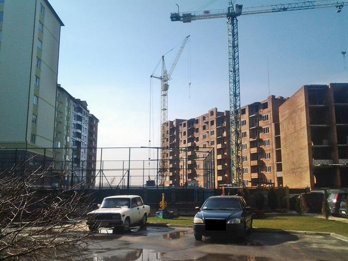 ЖК «Смарагдове мисто» строящиеся дома