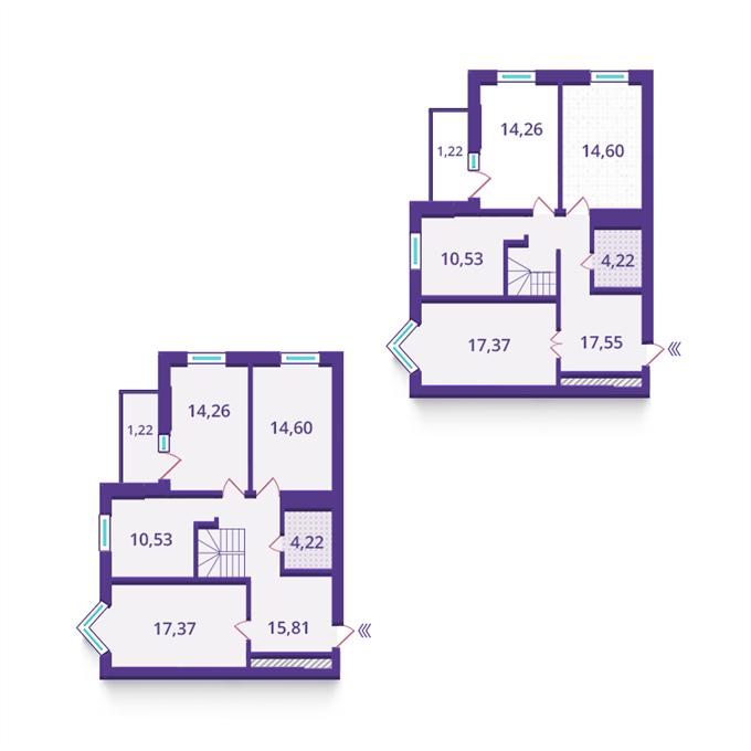 ЖК «Верховина» от Укрбуд планировки квартир