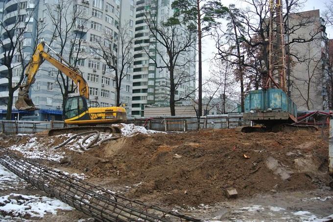 ЖК «Верховина» от Укрбуд стройплощадка