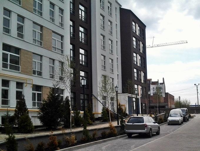 ЖК «Белый Шоколад. Center» в Белогородке фасад