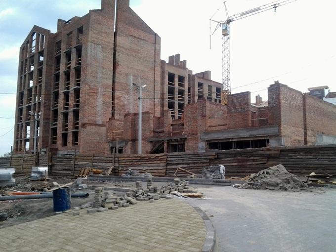 ЖК «Белый Шоколад. Center» в Белогородке стройка