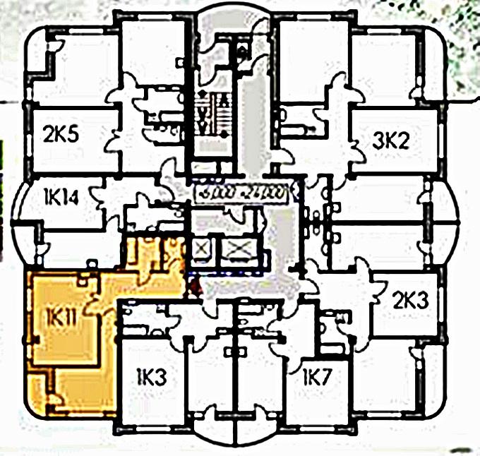 ЖК «Саванна Сити» поэтажный план