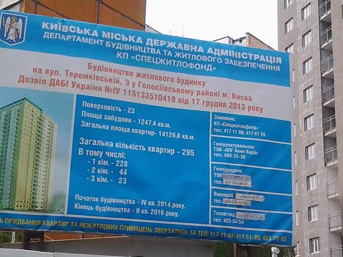 ЖК на Теремковской, 3 от Спецжитлофонда новый пасспорт
