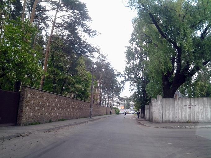 ЖК Эко Парк в Петропавловской Борщаговке дорога к окружной