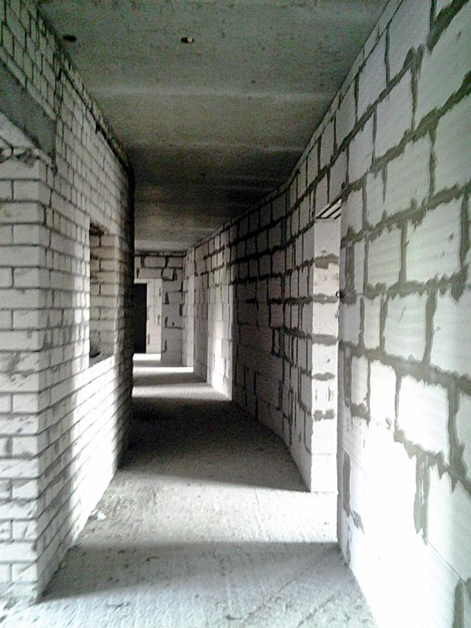 ЖК Эко Парк в Петропавловской Борщаговке коридор