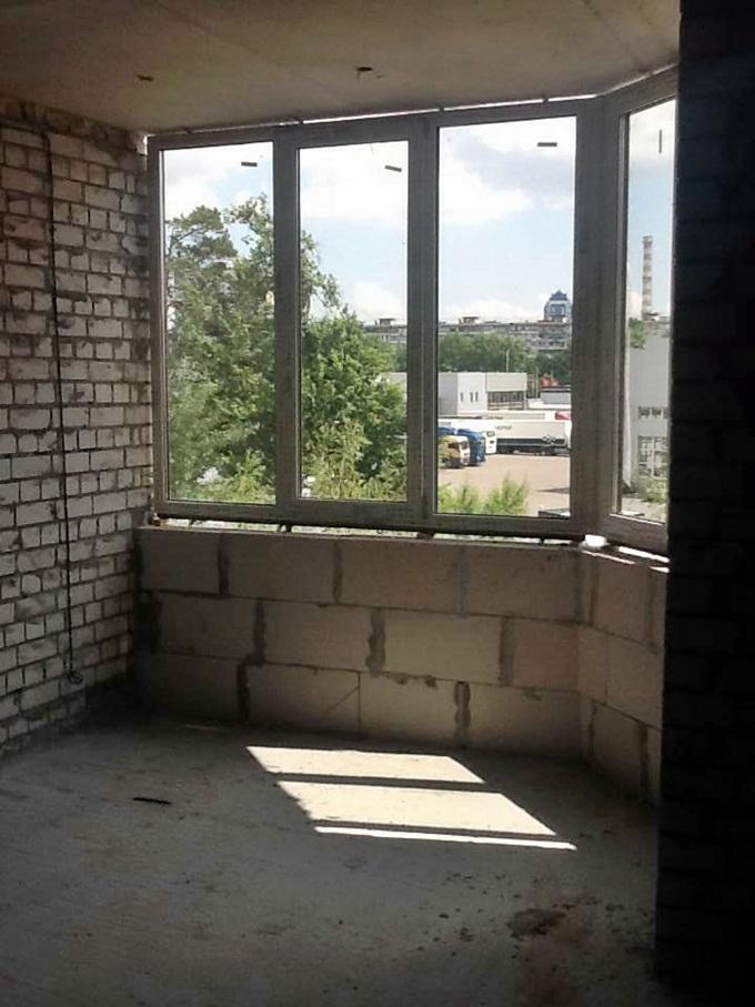 ЖК Эко Парк в Петропавловской Борщаговке вид на Киев из окна