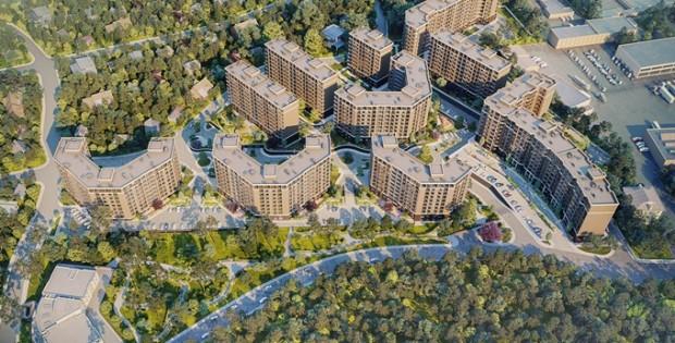 ЖК Эко Парк в Петропавловской Борщаговке визуализация