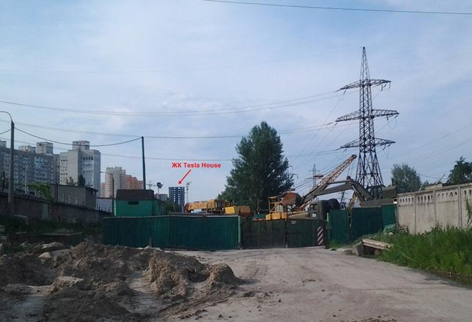 ЖК Фемили Таун - ЖК Тесла Хаус на ул. Дехтяревская улица