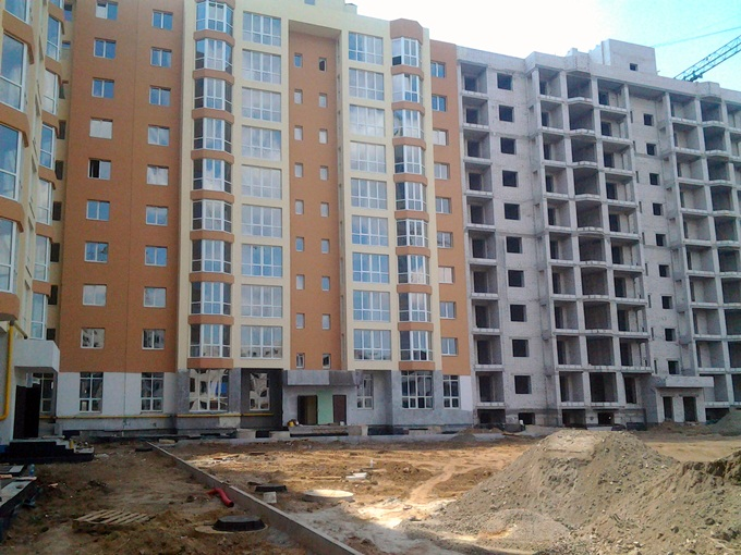 Строительство П-образного дома