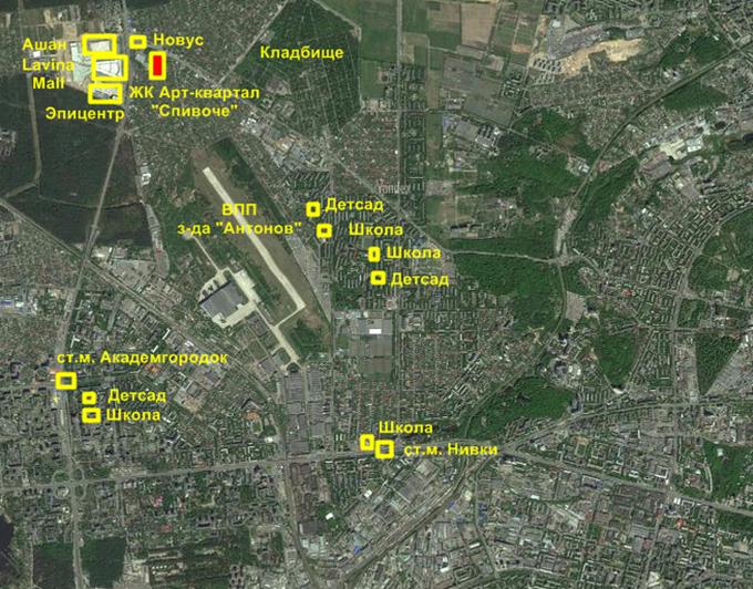 Арт-квартал «Спивоче» от СГ «Фундамент» инфраструктура
