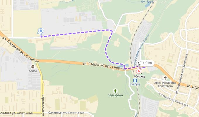 ЖК Парковый квартал «Город цветов» как дойти пешком