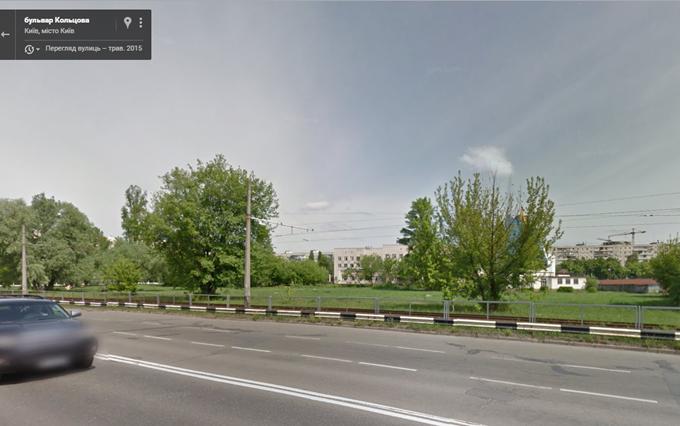 ЖК «Пектораль» от Укрбуд место для строительства