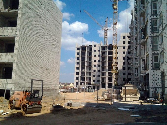 ЖК Софиевская Сфера в Софиевской Борщаговке Г образный дом строительство