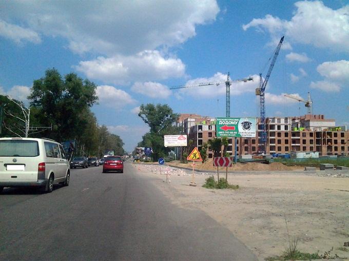 ЖК Софиевская Сфера в Софиевской Борщаговке стройка соседей
