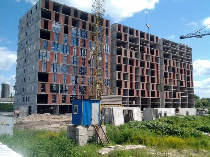 ЖК iHome в Крюковщине первый дом ход строительства
