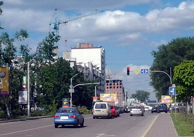 ЖК iHome в Крюковщине дорога