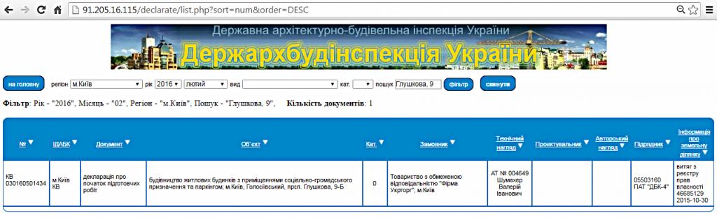 ЖК «Акцент» от ДБК-4 декларация ГАСК